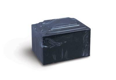 Doric Marble URN Blue