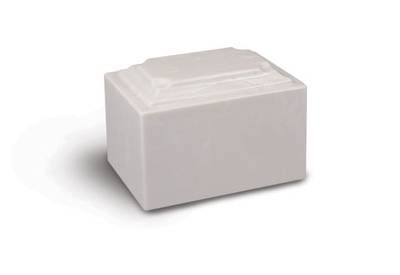 Doric Marble URN White