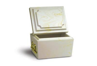 Doric Marble Urn Vault Short